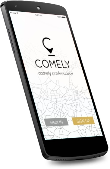 Comely - Android Home Screen