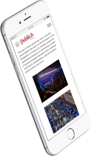 Publics Mobile Single Page
