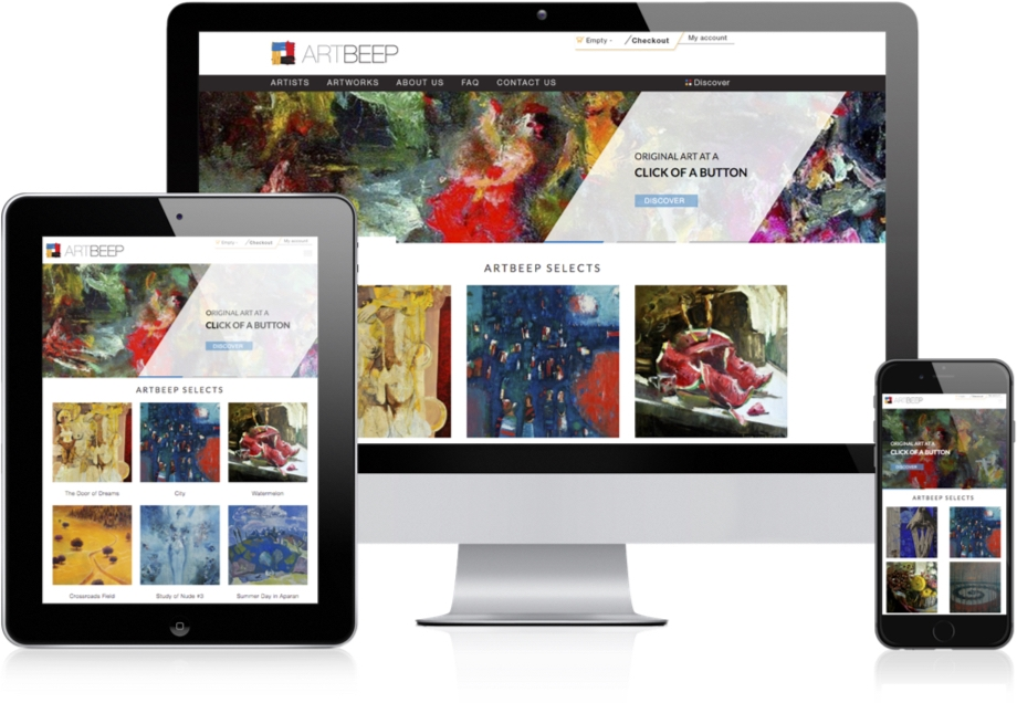 Artbeep Responsive Layout
